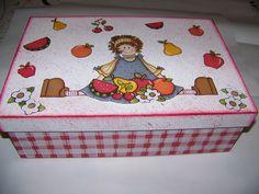 caixa para menina