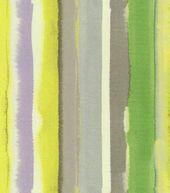 HGTV Home Decor Print Fabric Artistic Streak Platinum