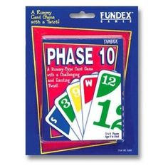 We are BIG Phase 10 fans... We love the game, along the lines of playing rummy... Kids like to play... lots of fun!