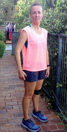 The Kimono Sweat by Fehr Trade has 2 tops in the one pattern, both of which I can show you today. View B is a sleeveless tank with deep a. Post Workout, Sewing Patterns, Kimono, Cover Up, Sporty, Pink, How To Make, Collection, Tops