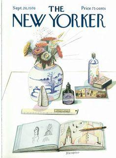 NEW YORKER: SAUL STEINBERG