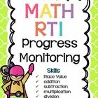 These assessments will allow you to compare and graph your students' progress from week to week. I've also included a few additional forms for RTI, such as lesson plan templates, progress monitoring graphs, and more!  $