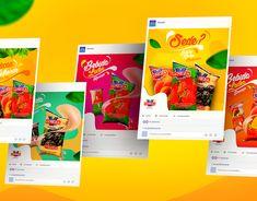 Social Media Festas on Behance Web Design, Layout Design, Graphic Design, Social Media Banner, Social Media Design, Gaming Banner, Jobs Apps, Design Reference, Brochure Design