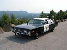 1972 Dodge Polara CHP Police Car.