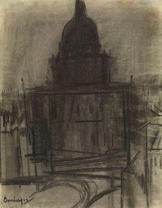 St Paul's, David Bomberg