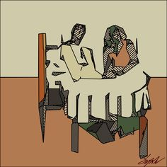 """""""At The Table"""", by Sylok."""