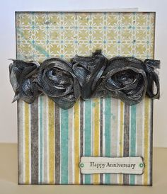 Happy Anniversary card by Darla Weber #WRMK