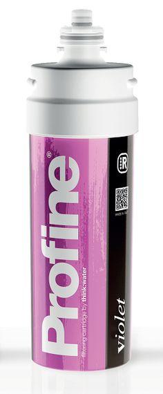 """PROFINE VIOLET è un filtro molto particolare, perché unisce la normale azione di microfiltrazione dell'acqua, con quella dell'addolcimento. Questo tipo di filtro, viene utilizzato per evitare la formazione di incrostazioni di calcare all'interno di elettrodomestici appartenenti al settore """"macchine del caffè"""""""