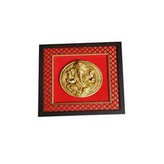 Brass Ganesh Wall Hanging  - FOLKBRIDGE.COM   Buy Gifts. Indian Handicrafts. Home Decorations.