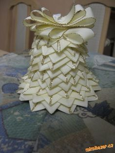 Zvoneček patchwork bez jehly