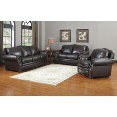 $2800  Costco: Austin 3-piece Leather Set
