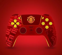 Ps4 Controller Custom, Gtr Car, Game Room Design, Xbox One S, Man United, Album Bts, Manchester United, Consoles, Playstation