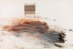 "Cy Twombly - ""Bacchanalia-Fall (5 Days in November)"" (1977)"