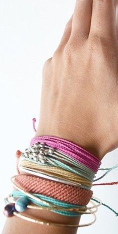 """Use the code """"caseychon20"""" at puravidabracelets.com for a 20% DISCOUNT on future orders!!"""