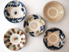 Japanese Taste, Blue Pottery, Pottery Studio, Pottery Painting, Decorative Plates, Dishes, Tableware, Design, Modern