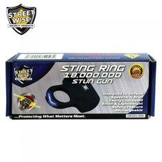 Streetwise Sting Ring 18,000,000 Stun Gun Black  #pepperspray #stungun #selfdefense #stundevices #stunbaton #selfdefence #panicalarm