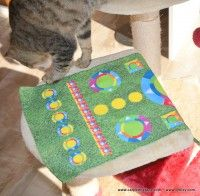 Picnic Blanket, Outdoor Blanket, Cats, Gatos, Cat, Kitty, Picnic Quilt, Kitty Cats