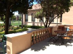 Friendship Terrace overlooking the NTC Venues Rose Garden.