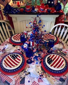 It& time to celebrate Independence Day. I cannot believe we are half way through 2017 is flying by way too fast! Have a safe . Fourth Of July Decor, 4th Of July Party, July 4th, 4th Of July Wreath, Summer Table Decorations, 4th Of July Decorations, Memorial Day Flag, Memorial Day Celebrations, Time To Celebrate