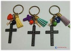 Cruz Padre, Bisuteria Lili S, Llavero Cruz, Accesorios Llaveros, Bautismo, Comunion, Tarjetas, Silbato, Cross Father