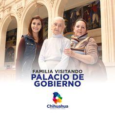 Familia visitando Palacio de Gobierno!  #PalacioDeGobierno #GobiernoTransversal #GobiernodeChihuahua #Chihuahuamx #Cuu