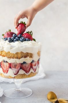 This tasty berry malt trifle is an easy recipe perfect for all your summer get togethers. This trifle only gets better over time.