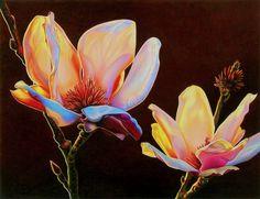 "Artist Ester Roi Magnolias Artwork Details Type: Miscellaneous Media: Drawing Media Size: 13"" x 17.5"""