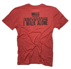 Men's I Walk Alone (Heather Red)