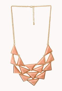 Bold Faux Stone Bib Necklace | FOREVER21 - 1000127286