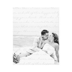 Custom Wedding Photo and Lyrics Canvas Art Stretched Canvas Prints:  This custom piece of art is the perfect gift for any bride or groom. Customize the background image with your own wedding photo. Also fully customize the subtle text withyour own unique wedding song lyrics or a special verse.  #weddingportrait #weddingcanvas #weddingphotocanvas #top50onzazzle