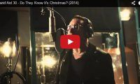 Band Aid 30 – Do They Know It's Christmas? (2014) To help the Ebola cause Bono, Zoella, One Direction, and others, sing this Classic Christmas tune… Band Aid