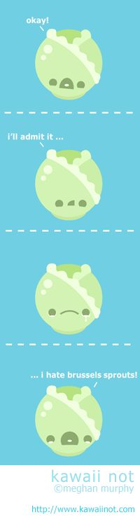 kawaii not comics | Kawaii Not - Brussel Sprouts
