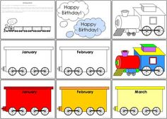 Birthday Train (in Italian) Student Birthdays, Classroom Birthday, Love Quotes, Happy Birthday, Teacher, Train, Fun, Display, Wall