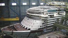 Ovation of the Seas construction at Meyer Werft Shipyard October 5 2015