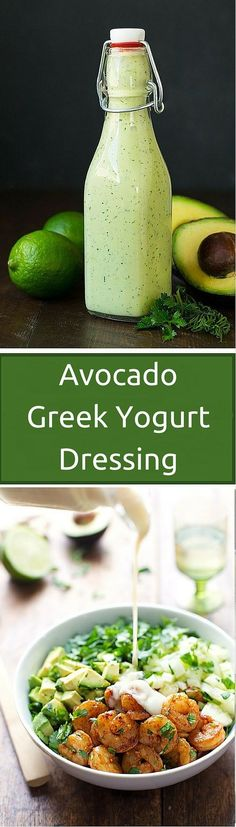 Sometimes eating healthy gets boring and we need something extra to make our salads appealing again. Adding extras like this Avocado Greek Yogurt Dressing will give any salad a much more appealing and diversified...