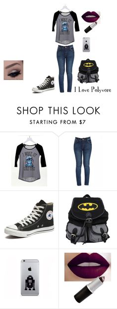 """""""Untitled #20"""" by lavinia-muniz on Polyvore featuring dELiA*s, Converse, women's clothing, women's fashion, women, female, woman, misses and juniors"""