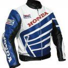 HONDA MOTORBIKE JACKET, HONDA MOTORCYCLE LEATHER JACKET, BIKER JACKET