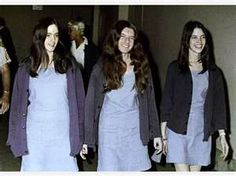 The Manson girls at trial