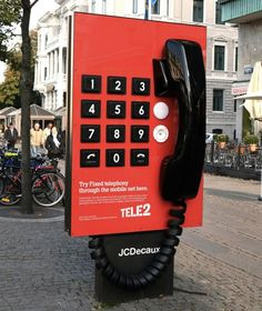working giant phone by Forsman & Bodenfors for Tele2