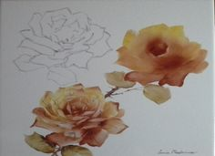 Painting roses with Luisa Maderna – Milano
