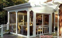 Дачний будинок з верандою   прекрасне рішення для заміського будинку