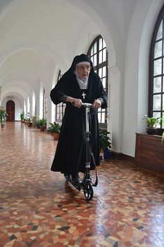 "catholicconnect: ""On the way to save some souls! live in charity; associate in Christian community; Sister Act, Bride Of Christ, Young At Heart, Make Me Smile, Persona, Christianity, Beautiful People, Have Fun, Faith"