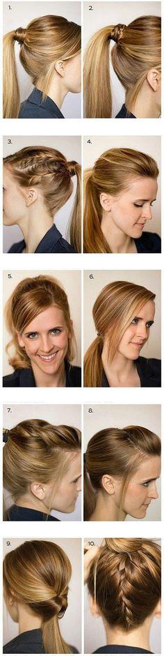 Diy Beautiful Hair | Click to see More Beauty Tutorials.