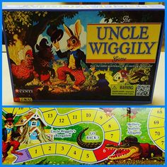 Game of the Week: The Uncle Wiggly Game Did you ever play The Uncle Wiggly Game or read an Uncle Wiggly book? What is your favorite activity inspired by a book? #games #boardgames #retrogames #gameoftheweek