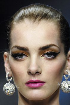 Beauty from the Valentino spring 2008 couture show