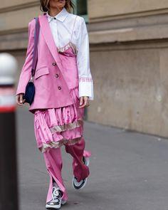 Ángela by @ModeHunter in Paris. @Madamederosa • www.modehunter.co.uk • By #DarrelHunter #ModeHunter #AngelaRozasSaiz #MiuMiu #LouisVuitton…