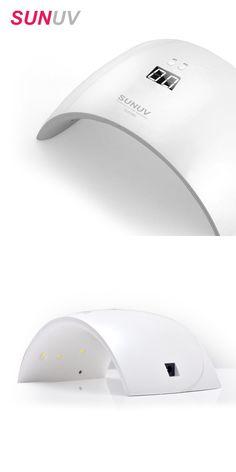 [Visit to Buy] SUNUV SUN9x 24W Nail Lamp UV Lamp Nail Dryer for UV Gel LED Gel Nail Machine Infrared Sensor Timer Set #Advertisement