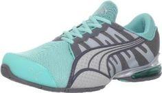 Puma Women's Voltaic 3 NM Running Shoe,Blue/Steel/Quarry/Silver,10 B US:Amazon:Shoes