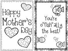 Make Your Own Mother's Day Cards Freebie - fun for all students. Make sure all mom's get a sweet card on May 11th.