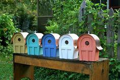 Copper Cabin Bird Houses